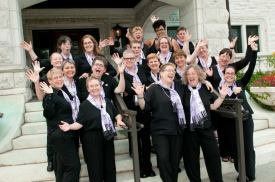 Before performing at the 10th Sister Singers Network Choral Festival July 2010