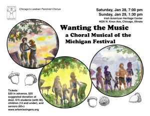 MichFest Musical Flyer