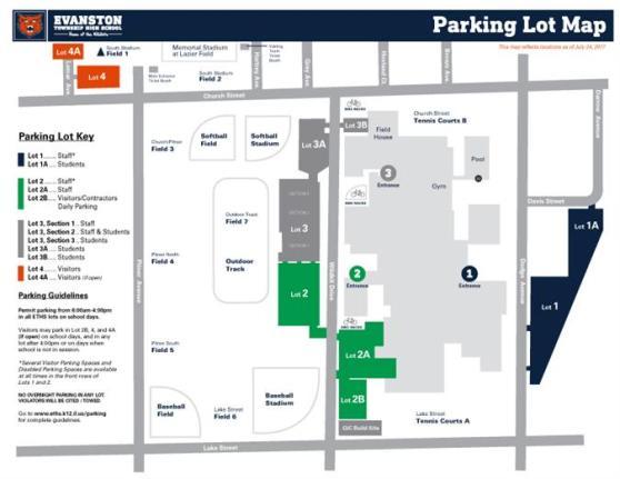 ETHS Parking