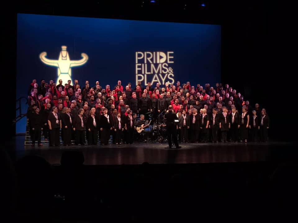 "Singing ""Winter,"" co-sponsored by Pride Films and Plays"